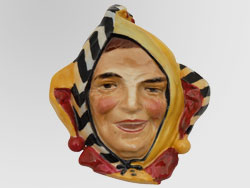Jester Wall Mask Small HN1673, Series: Wall - Mask & Pocket.