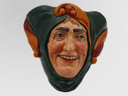 Royal Doulton Jester Wall Mask.